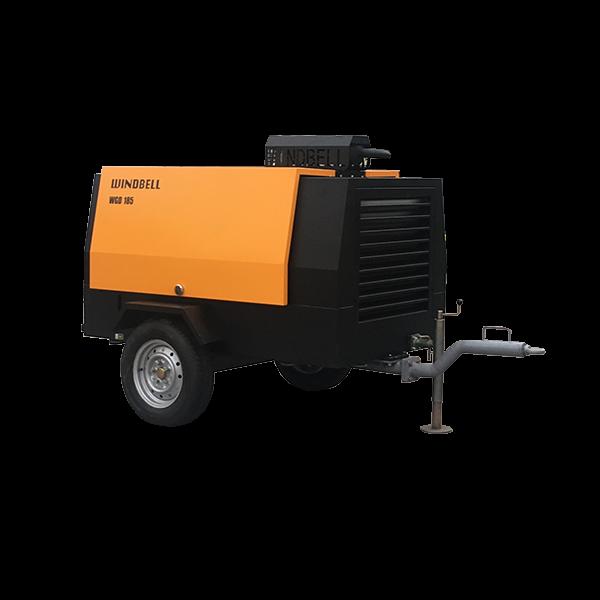 WGD-185柴油移动空压机