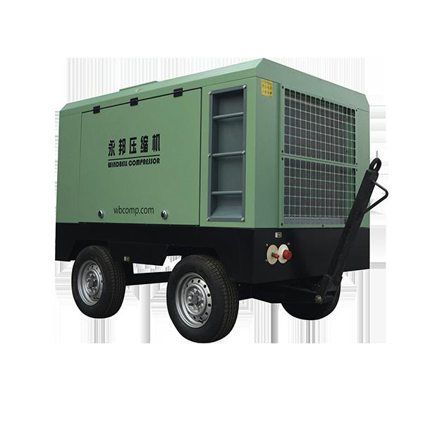 武汉电动移动螺杆空压机-WGE系列